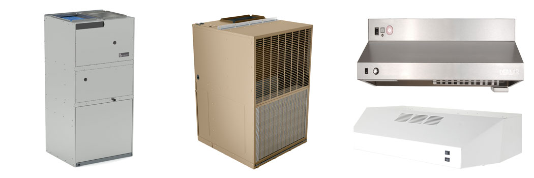HVAC: Magic-Pak • Denlar  • Ecoer • Hi-Velocity • Robur • Triangle Tube • Watts Radiant •  Z-Flex